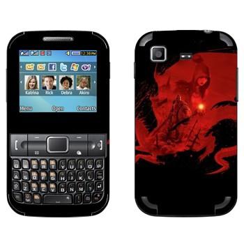 Виниловая наклейка «Эпоха дракона: Начало» на телефон Samsung C3222 Duos