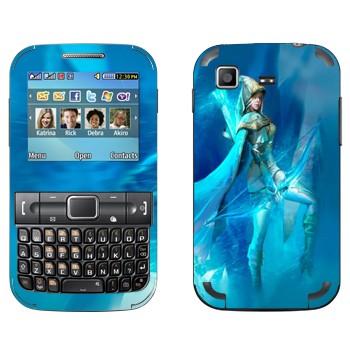 Виниловая наклейка «Эш - Ледяная лучница» на телефон Samsung C3222 Duos