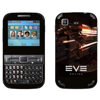 Виниловая наклейка «EVE армада красный» на телефон Samsung C3222 Duos