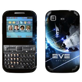 Виниловая наклейка «EVE Армада» на телефон Samsung C3222 Duos