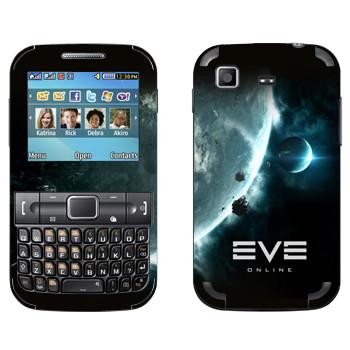 Виниловая наклейка «EVE игры» на телефон Samsung C3222 Duos