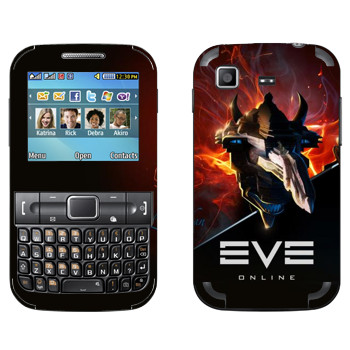 Виниловая наклейка «EVE Левиафан» на телефон Samsung C3222 Duos