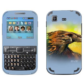 Виниловая наклейка «EVE Пророчество» на телефон Samsung C3222 Duos