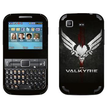 Виниловая наклейка «EVE Валькирия» на телефон Samsung C3222 Duos