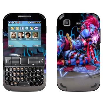 Виниловая наклейка «Эвелина - Оставляющая Вдов» на телефон Samsung C3222 Duos