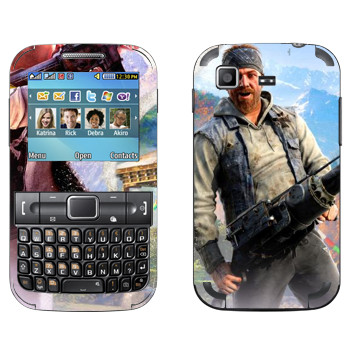 Виниловая наклейка «Far Cry 4 - Хёрк» на телефон Samsung C3222 Duos
