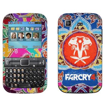 Виниловая наклейка «Far Cry 4 - Лого» на телефон Samsung C3222 Duos