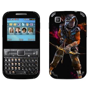Виниловая наклейка «Far Cry 4 - лучник» на телефон Samsung C3222 Duos