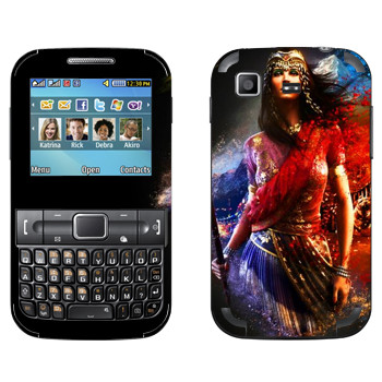 Виниловая наклейка «Far Cry 4 - Нур Наджар» на телефон Samsung C3222 Duos