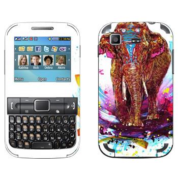 Виниловая наклейка «Far Cry 4 - слон» на телефон Samsung C3222 Duos