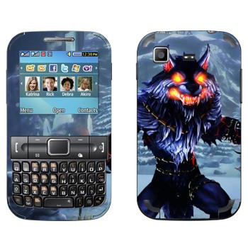 Виниловая наклейка «Fenrir : Smite Gods» на телефон Samsung C3222 Duos