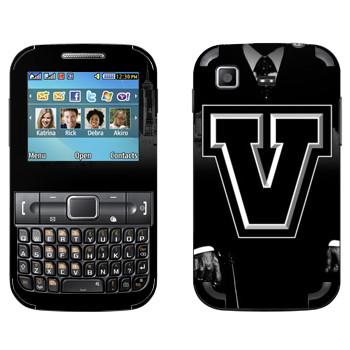 Виниловая наклейка «GTA 5 black logo» на телефон Samsung C3222 Duos