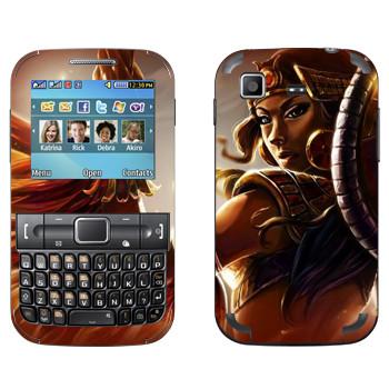 Виниловая наклейка «Isis : Smite Gods» на телефон Samsung C3222 Duos