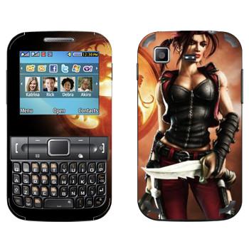 Виниловая наклейка «Кира - Mortal Kombat» на телефон Samsung C3222 Duos
