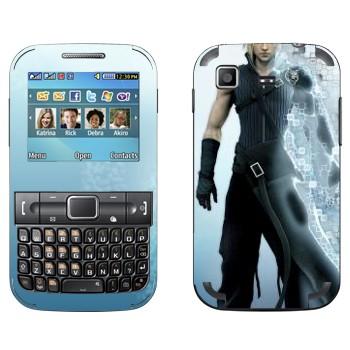 Виниловая наклейка «Клауд Страйф - Final Fantasy» на телефон Samsung C3222 Duos