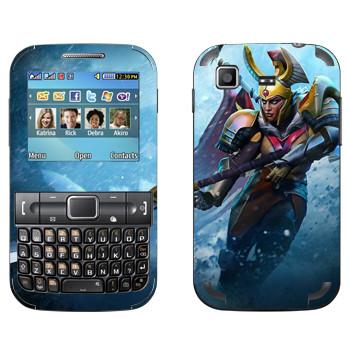Виниловая наклейка «Командир Легиона - Dota 2» на телефон Samsung C3222 Duos