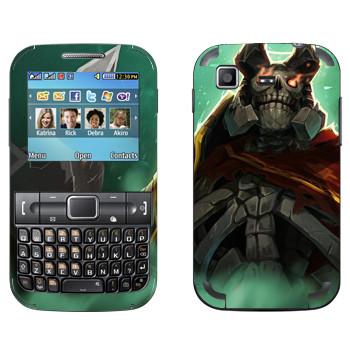 Виниловая наклейка «Король призраков - Dota 2» на телефон Samsung C3222 Duos