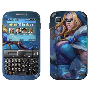 Виниловая наклейка «Кристал Мэйден - Dota 2» на телефон Samsung C3222 Duos
