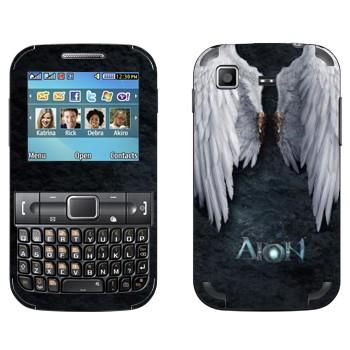 Виниловая наклейка «Крылья ангела - Aion» на телефон Samsung C3222 Duos