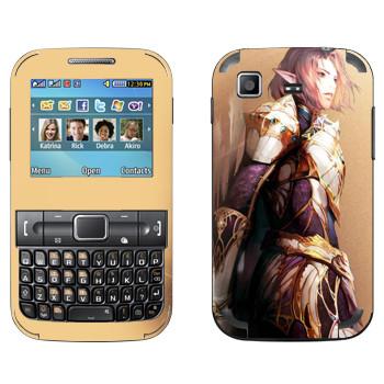 Виниловая наклейка «Lineage Elf man» на телефон Samsung C3222 Duos