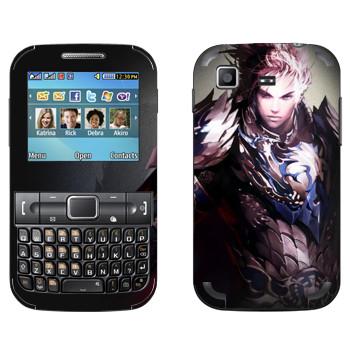 Виниловая наклейка «Lineage Эльф воин» на телефон Samsung C3222 Duos