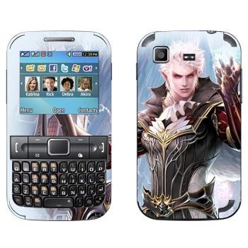 Виниловая наклейка «Lineage Elf warrior» на телефон Samsung C3222 Duos