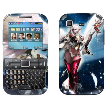 Виниловая наклейка «Lineage Камаэль девушка» на телефон Samsung C3222 Duos