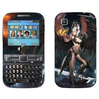 Виниловая наклейка «Lineage Камаэль мистик» на телефон Samsung C3222 Duos