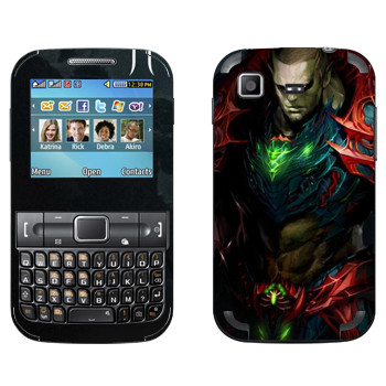 Виниловая наклейка «Lineage Орк воин» на телефон Samsung C3222 Duos