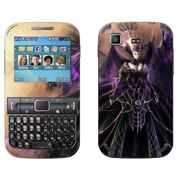 Виниловая наклейка «Lineage queen» на телефон Samsung C3222 Duos