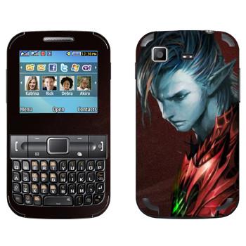 Виниловая наклейка «Lineage Темный эльф воин» на телефон Samsung C3222 Duos