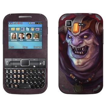Виниловая наклейка «Лион - Dota 2» на телефон Samsung C3222 Duos