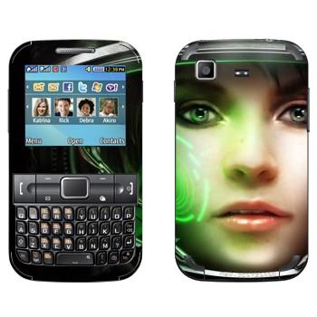 Виниловая наклейка «Медик - StarCraft 2» на телефон Samsung C3222 Duos