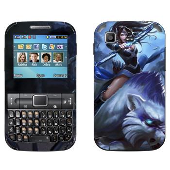 Виниловая наклейка «Мирана - Dota 2» на телефон Samsung C3222 Duos