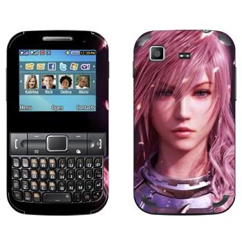 Виниловая наклейка «Молния - Final Fantasy» на телефон Samsung C3222 Duos