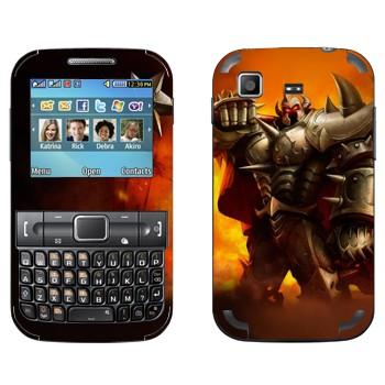 Виниловая наклейка «Мордекайзер - Мастер металла» на телефон Samsung C3222 Duos
