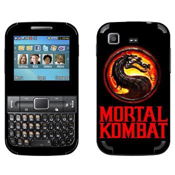 Виниловая наклейка «Mortal Kombat игра» на телефон Samsung C3222 Duos
