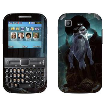 Виниловая наклейка «Neverwinter Бородатый» на телефон Samsung C3222 Duos
