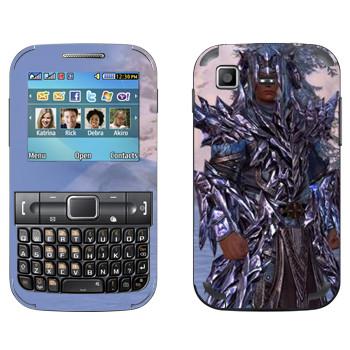 Виниловая наклейка «Neverwinter Человек» на телефон Samsung C3222 Duos