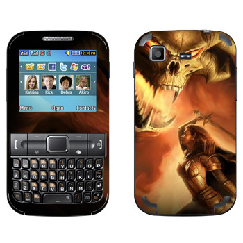 Виниловая наклейка «Neverwinter Дьявол» на телефон Samsung C3222 Duos