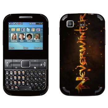 Виниловая наклейка «Neverwinter Игра» на телефон Samsung C3222 Duos
