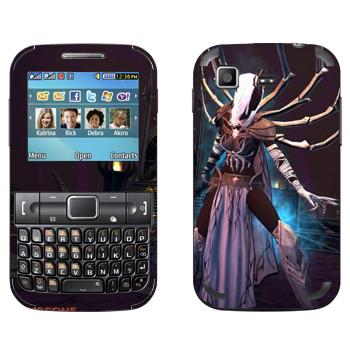 Виниловая наклейка «Neverwinter Паук» на телефон Samsung C3222 Duos