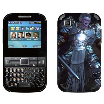 Виниловая наклейка «Neverwinter Рыцарь» на телефон Samsung C3222 Duos