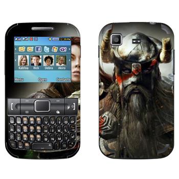 Виниловая наклейка «Neverwinter Викинг» на телефон Samsung C3222 Duos