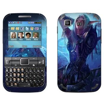 Виниловая наклейка «Ночной Эльф - World of Warcraft» на телефон Samsung C3222 Duos