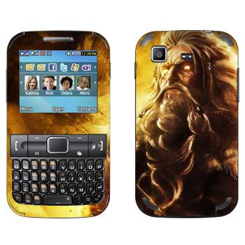 Виниловая наклейка «Odin : Smite Gods» на телефон Samsung C3222 Duos
