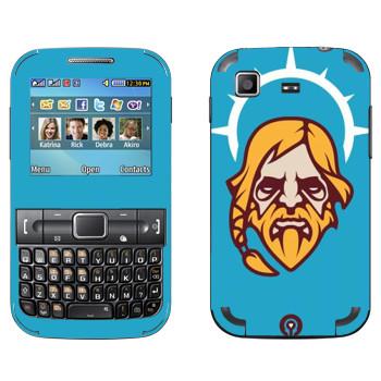 Виниловая наклейка «Одинокий Друид» на телефон Samsung C3222 Duos