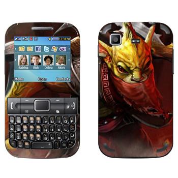 Виниловая наклейка «Охотник за головами - Dota 2» на телефон Samsung C3222 Duos