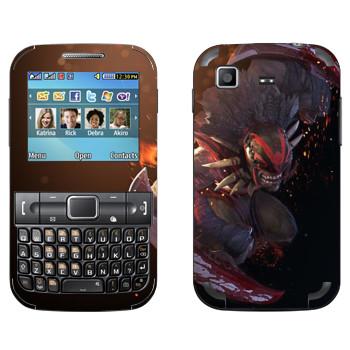 Виниловая наклейка «Охотник за кровью - Dota 2» на телефон Samsung C3222 Duos