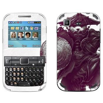 Виниловая наклейка «Пандарен в амуниции - World of Warcraft» на телефон Samsung C3222 Duos